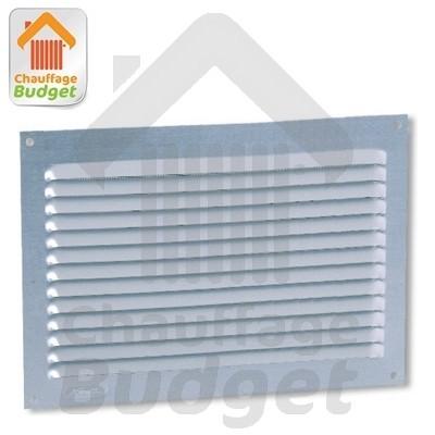 Grille de ventilation aluminium 20x30 chaufferie toutes les pi ces - Grille de ventilation aluminium ...