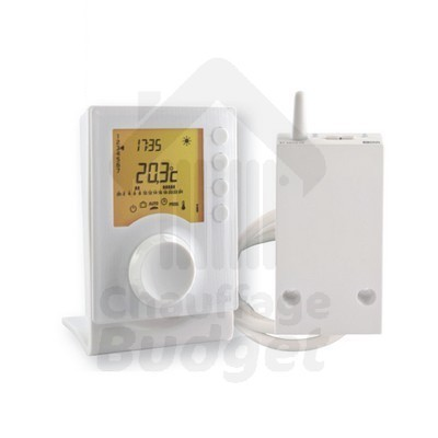 Thermostat d 39 ambiance programmable sans fil tybox 137 - Thermostat programmable sans fil ...