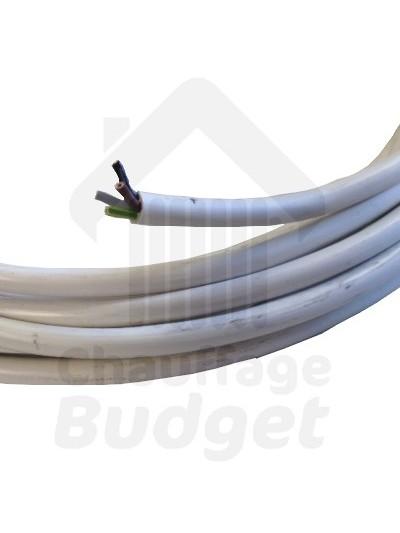 Cable électrique souple 4 x 0,75mm²  (le mètre)