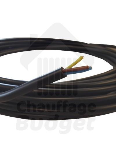 """Cable électrique """"rigide"""" 3 x 1,5mm² (le mètre)"""