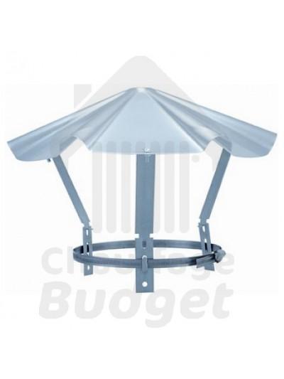 Chauffage-Budget: fumisterie inox chapeau chinois pour tubage diamètre 139
