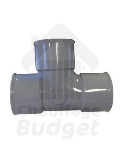 Té PVC 40-32-40
