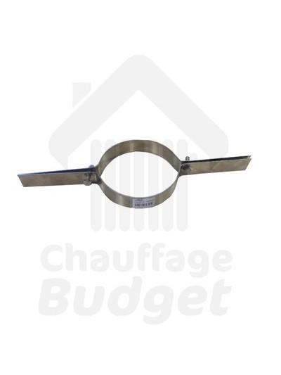 Fumisterie: collier de suspension de tubage diamètre 153