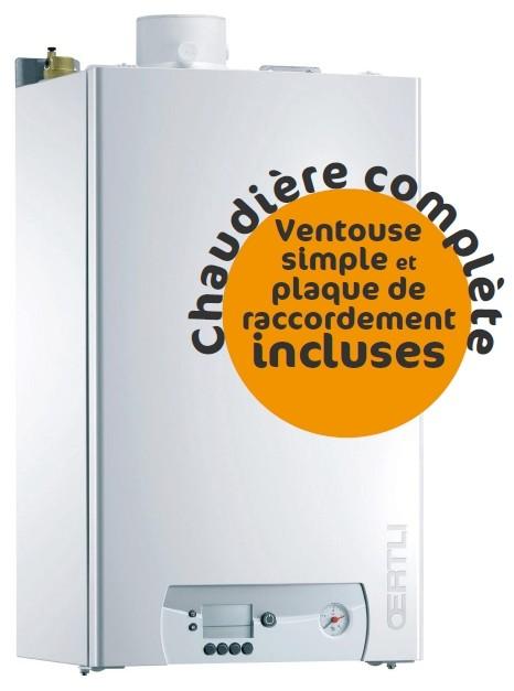 Chaudière Gaz Oertli GMR 1024 - Complète