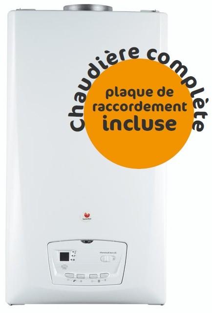 Chaudière Gaz Saunier Duval Thema Classic C25EV - Complète