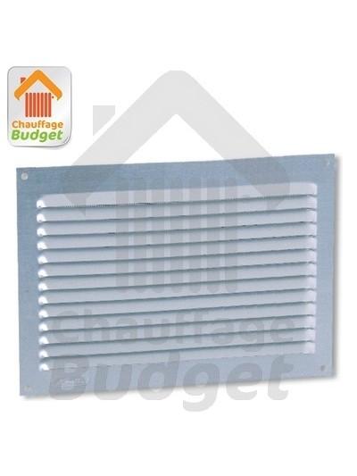 Grille de ventilation aluminium 20x30