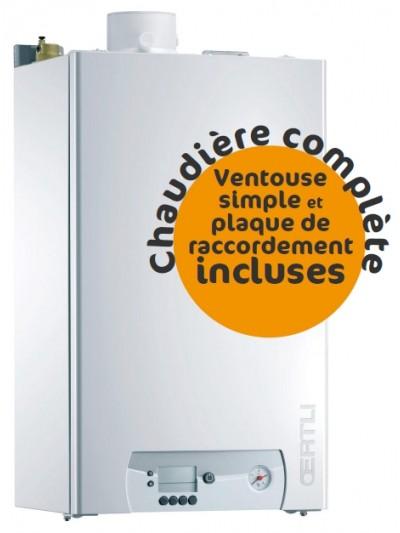 Chaudière Gaz Oertli GMR1024 - Complète