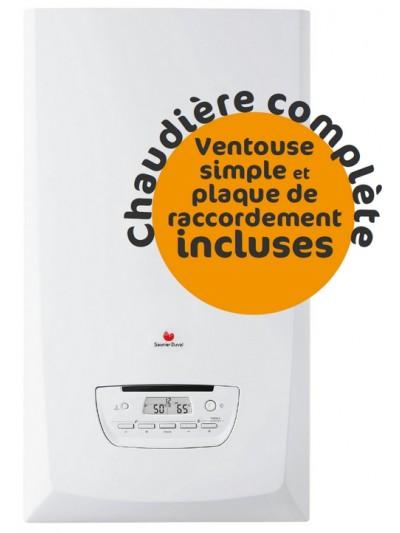 Chaudière Gaz Saunier Duval Thema Condens F25 - Complète