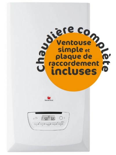 Chaudière Gaz Saunier Duval Thema Condens F30 - Complète