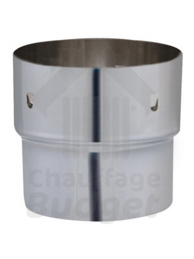 Chauffage-Budget: Fumisterie inox adaptateur conduit rigide - tubage diamètre 153